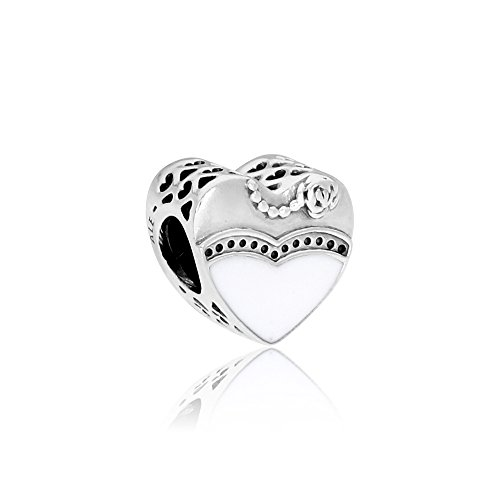 Pandora Sterling Silver Our Special Day Charm 791840ENMX