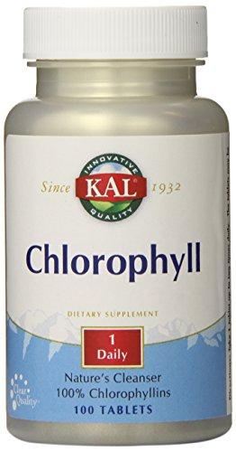 - KAL Chlorophyll Tablets, 20 mg, 100 Count