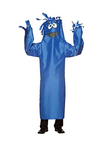 Rasta Imposta Wacky Wiggler Costume, Blue, One Size -