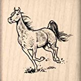 Horse Rubber Stamp - 1-1/2 inches x 1-1/2 inches