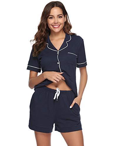 algod Conjunto pijama de Conjunto de de 74qYXPY