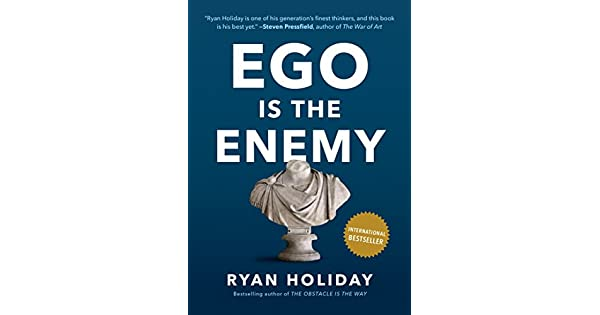 Ego is the enemy livros na amazon brasil 9781591847816 fandeluxe Image collections