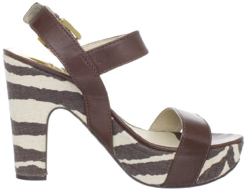 MICHAEL Michael Kors Womens Ivana Platform Sandal Mocha dXLdvc0P