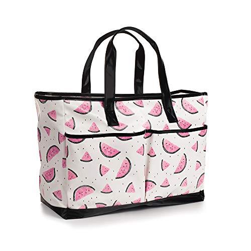 Viva Terry Large Waterproof Beach Travel Tote bag Handbag Organizers- Watermelon by Viva Terry