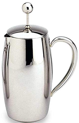 Amazon.com: Cafetera de acero inoxidable., Espejo: Kitchen ...