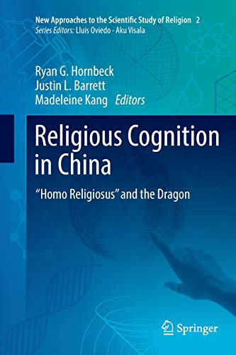 "Book cover from Religious Cognition in China: ""Homo Religiosus"" and the Dragon (New Approaches to the Scientific Study of Religion) by Katherine L Morse"