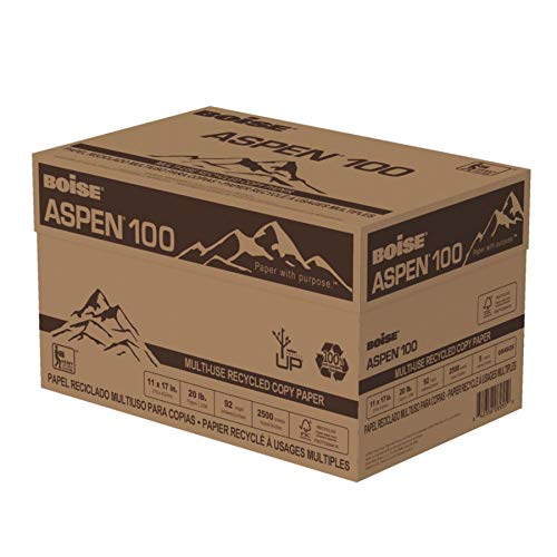 BOISE ASPEN 100% Recycled Multi-Use Copy Paper, 11