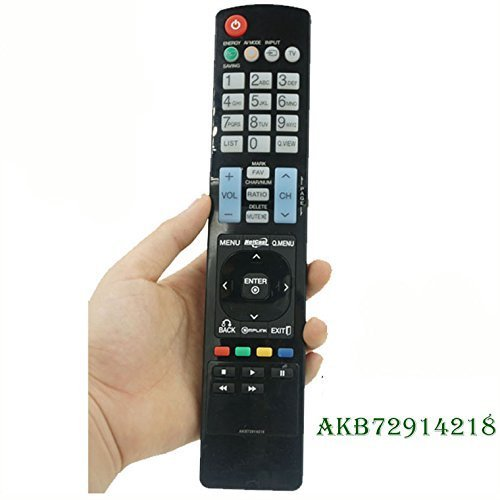 Lcd Tv Remote Control (Free Shipping 100% Universal Remote Control Fit For LG AKB72914218 LED LCD Plasma HDTV TV)