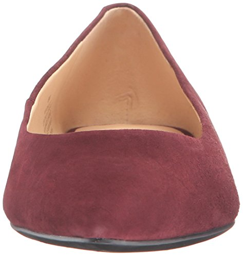 Onlee Chianti Daim Rouge West Chaussure Plate Nine 0zwTP8q