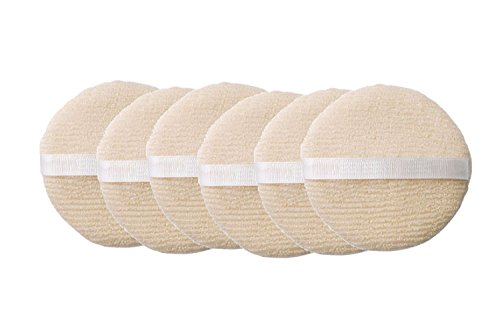 Exfoliating Facial Sponge (Daylee Naturals Exfoliating Facial Buffer 6 Pack)