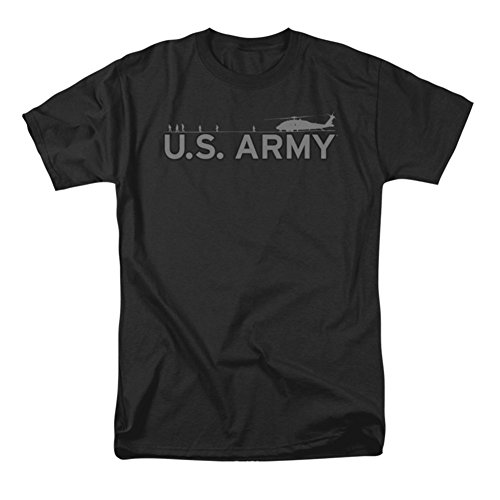 Army Helicopter Short Sleeve Mens Shirt