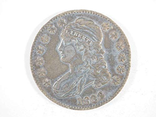 (1832 P Cappeed Bust Half Dollar Half Dollars Ungraded)