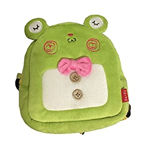 Bonawen Dog Puppy Harness Pouch With Leash for Small Medium Pet (Green,L)