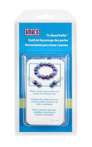 Bicone Beads Air - AMACO Tri-Bead Roller