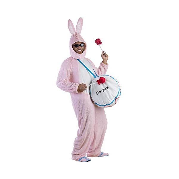 Dress-Up-America-Adult-Energizer-Bunny-Mascot-Costume-with-Soft-Drum-One-Size-Fits-Most