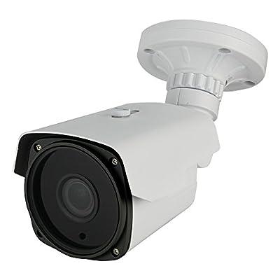 Dripstone 2.1MP Sony Sensor 1080p 4-in-1 Bullet (HD-TVI, CVI, AHD, 960H) Security Camera 2.8-12mm Varifocal Lens IR-Cut 200ft Night Vision Range IP66 Outdoor/Indoor from SDS Creative Technologies