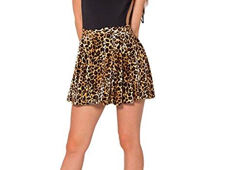 Soire Plage 1 Mini Lopard Femme de Mini Jupe Jupon Robe Skirt Fille Shorts Tutu A Jupe Imprim de YICHUN Line w1qvgC