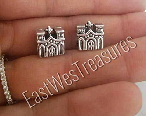 Notre dame Church Paris France landmark charm bead-for DIY charm bracelets