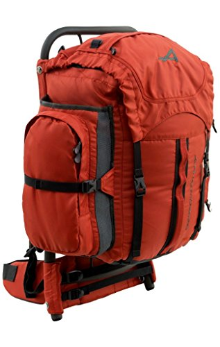 External Frame Backpack (ALPS Mountaineering Red Rock External Frame Pack, 34 Liters)