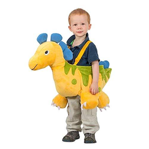 Prehistoric Princess Costumes - Princess Paradise Yellow Ride-in Dino Child's