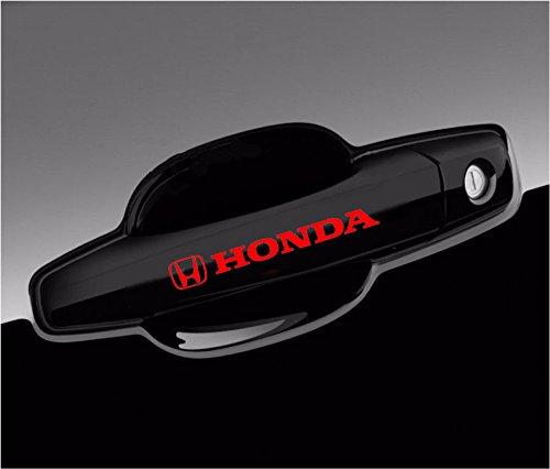 Soko Accents - Sokos Honda Decal For Wheels and Door Handle Logo Vinyl Stickers Graphics - 8pcs set