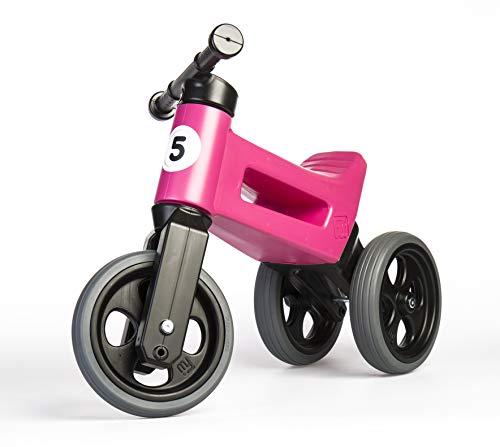 PlayMonster Free Wheelin' Rider Convertible Balance Bike, Pink