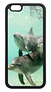 Generic Dolphin Family Back Case for Apple Iphone 6 4.7 Inch TPU Black Bumper