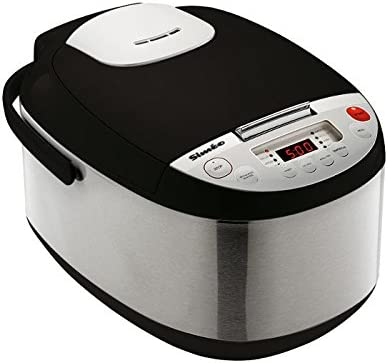 Siméo QC331 - Robots de cocina, 900 W, 5 l, color negro y gris: Amazon.es: Hogar