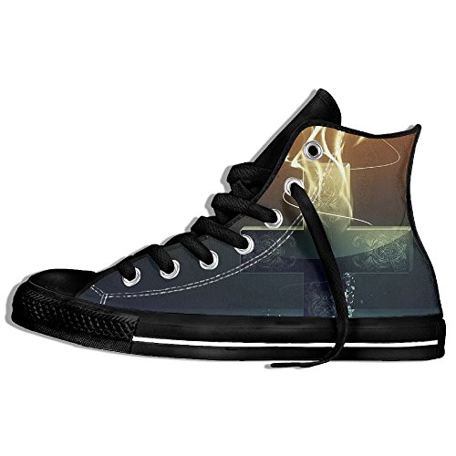 Classiche Sneakers Alte Scarpe Di Tela Antiscivolo Cool Cross Casual Da Passeggio Per Uomo Donna Nero