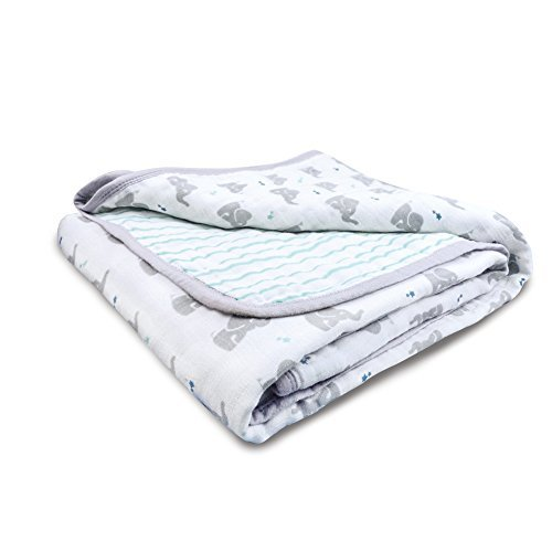 - aden by aden + anais Mini Dream Blanket, Baby Star