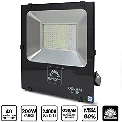 Foco Proyector LED de exterior 200w 24000lm luz neutra 4000k ...
