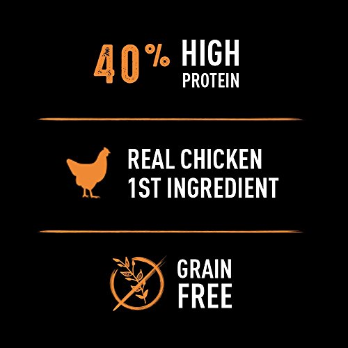CRAVE Grain Free High Protein Dry Cat Food 4