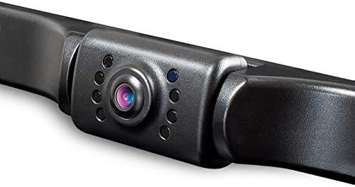 HD eRapta ERT01 Backup Camera Rear View License Plate Reverse Camera Universal for Pickup Truck Car SUV 149° Perfect Angle Night Vision 9 Level Waterproof 720 Image
