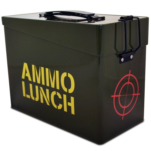Novelty Ammo Lunch Box