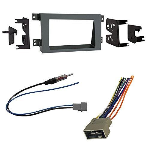 Car Radio Stereo CD Player Dash Install Mounting Trim Bezel