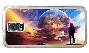 Hipster Samsung Galaxy S5 Cases crazy dream world PC Transparent for Samsung S5