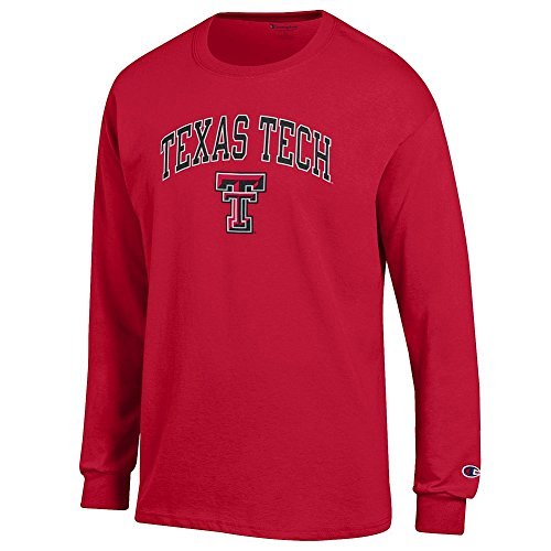 - Elite Fan Shop Texas Tech Red Raiders Long Sleeve Tshirt Varsity Scarlet - XL