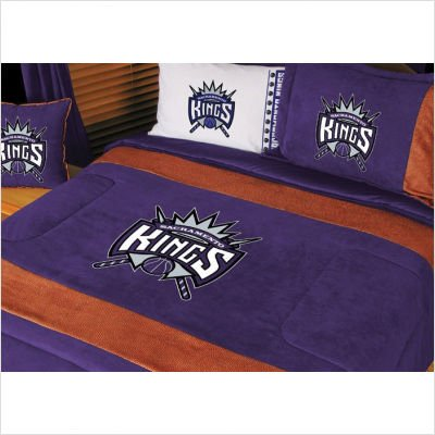 Sports Coverage NBA Sacramento Kings MVP Comforter (Mvp Microsuede Comforter)