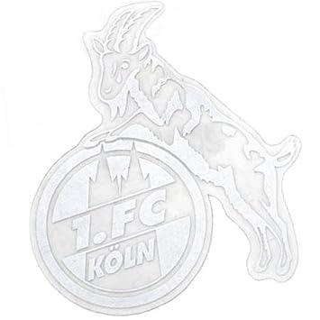 Sticker Aufkleber Transparent Silber 1 Fc Köln