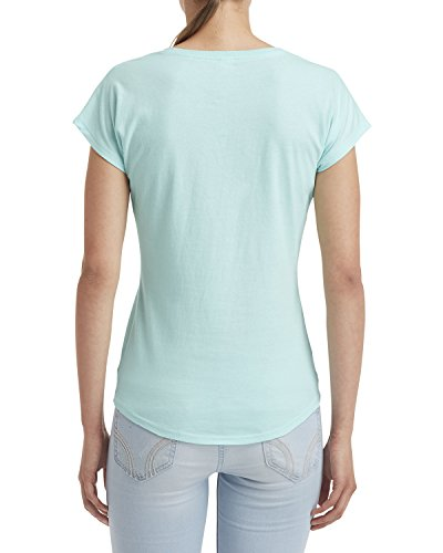 Ice Donna shirt T Anvil Teal Rq7axw