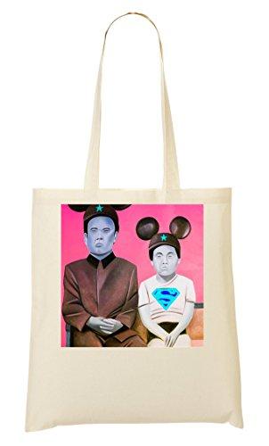 À Un Sac Sac Colored Junior Tout Provisions Pop Kim Jong Fourre 75q4nxwzWp