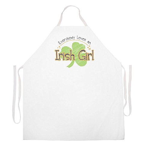 """Apron-This Is The """"Irish Girl"""" Kitchen Apron Funny-Get Cooking And Don't Worry About Messing Up Your Clothes With This Cooking Apron, Naughty Apron- You are the chef in the kitchen!"""
