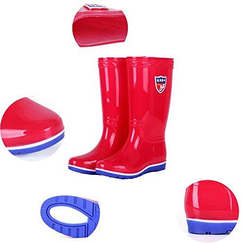 boots Y barrel boots shoes Ms QQnvYUXUE overshoes shoes red rain high rain amp;JAXIE zaqpdY