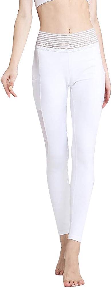 Tummy Control Printed Quick-Drying Leggings Step Foot Workout Leggings High Waist Yoga Pants
