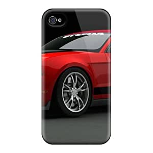 New 2010 Ford Mustang At Sema 2009 3 Tpu Case Cover, Anti-scratch 6Plus Phone Case For Iphone 4/4s Kimberly Kurzendoerfer