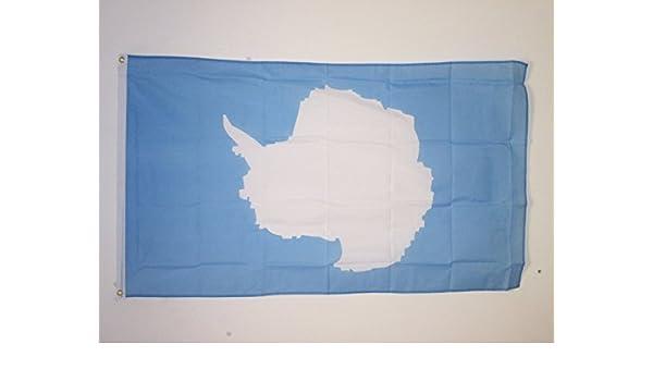 AZ FLAG Bandera de la ANTÁRTIDA 90x60cm - Bandera ANTÁRTICA 60 x 90 cm: Amazon.es: Jardín