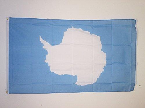 AZ FLAG Bandiera Antartide 150x90cm - Bandiera Antartica 90 x 150 cm