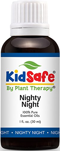 Deep Night Perfume (Plant Therapy KidSafe Nighty Night Synergy Essential Oil Blend. Blend of: Lavender, Marjoram, Mandarin, Cedarwood Atlas, Patchouli, Clary Sage, Chamomile Roman and Tansy Blue. 30 mL (1 Ounce).)