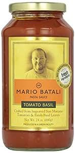 Mario Batali Pasta Sauce Tomato Basil 24Oz
