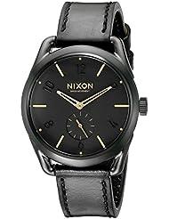 Nixon Mens A459010 C39 Analog Display Swiss Quartz Black Watch